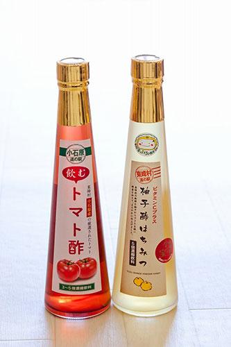 柚子酢はちみつ 飲むトマト酢