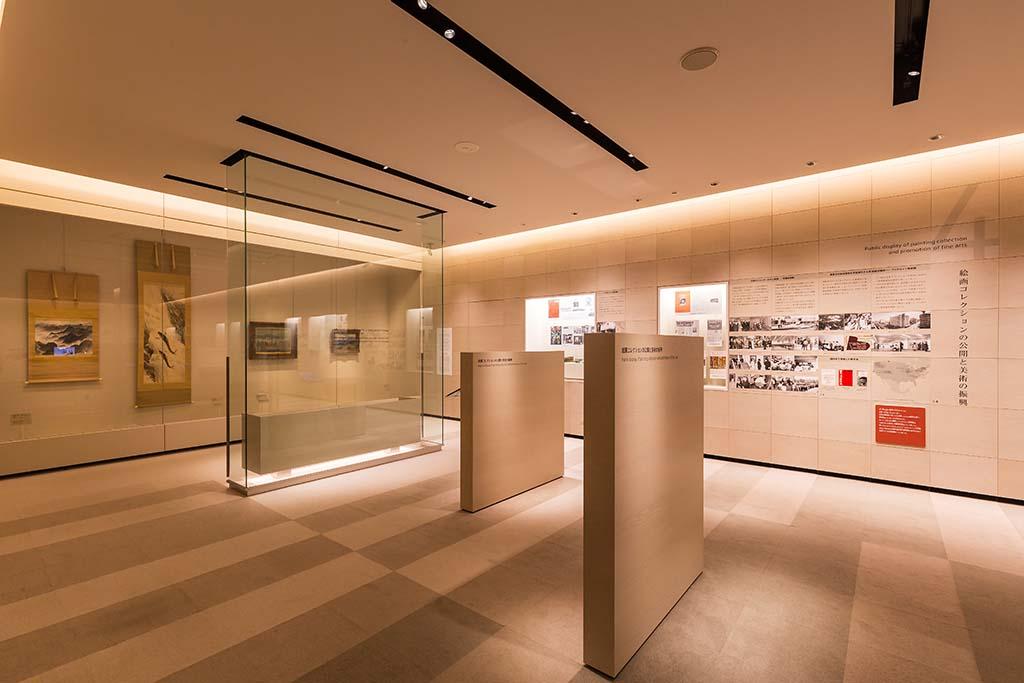 「石橋正二郎記念館」では、石橋財団コレクションの中から正二郎ゆかりの作品を定期的に入れ替えながら展示している